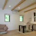 漆喰は光との相性がよく、室内を明るくします。